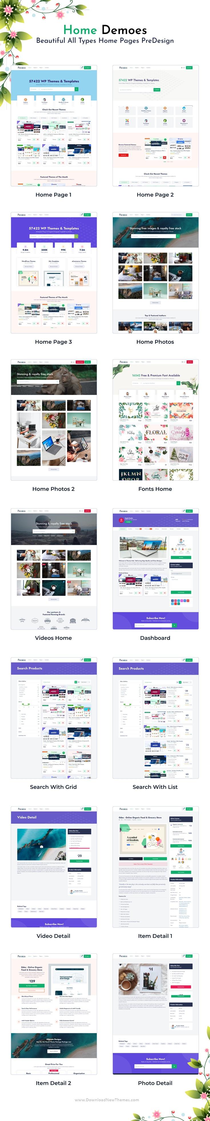 Digital Marketplace HTML Template