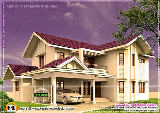 Villa modern home design
