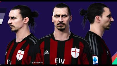 PES 2021 Faces Zlatan Ibrahimovic by MictlanTheGod
