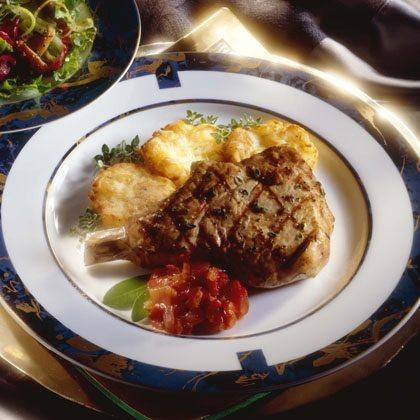 Herbed Pork Chops Recipe