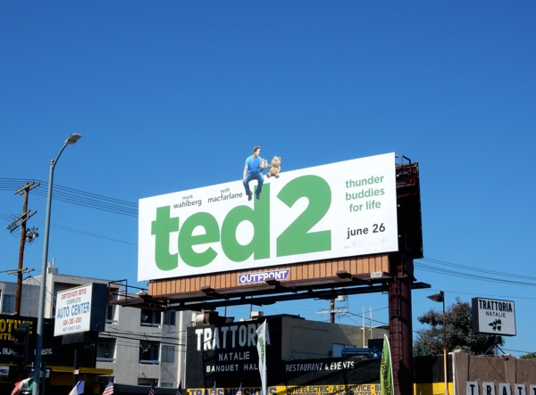 special Ted 2 movie billboard