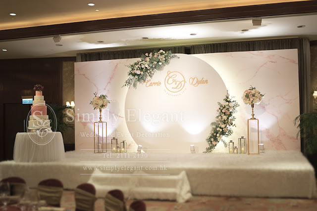 Conrad Hong Kong,香港港麗酒店,Wedding,Decoration,婚禮,佈置