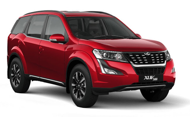 2018 New XUV 500 Tuscan Red colour  00