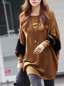 www.shein.com/Khaki-Color-Block-Batwing-Sleeve-Loose-T-Shirt-p-253489-cat-1738.html?aff_id=2687