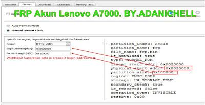 Fix FRP Lenovo A7000