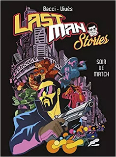 Last Man Stories, couverture par Alexis Bacci