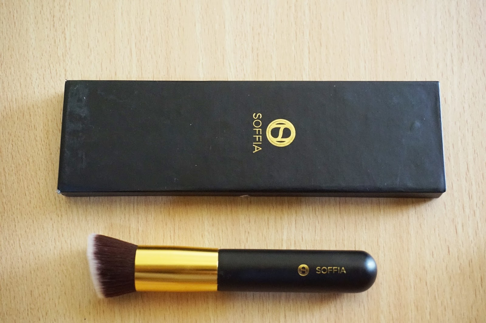 soffia opulence perfect skin foundation brush review