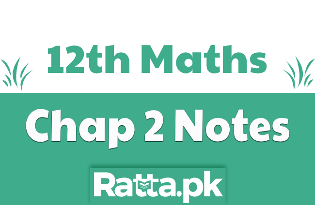 2nd Year Maths Chapter 2 Notes Differentiation pdf