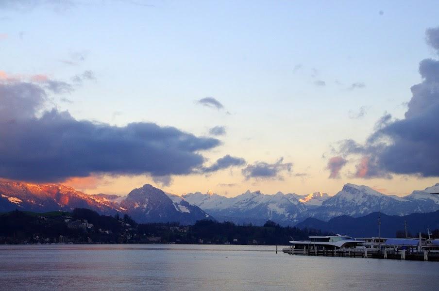 Lake Lucerne Sunset