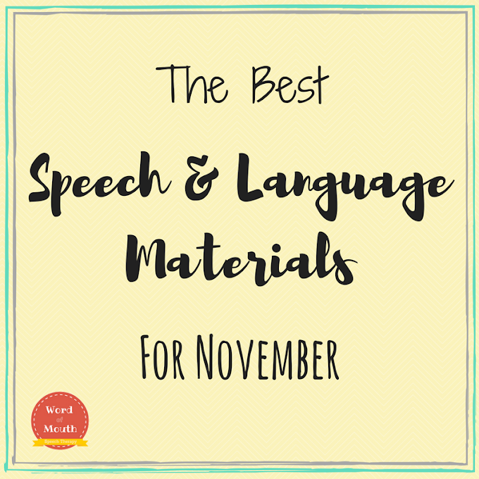 Best Speech Therapy Materials