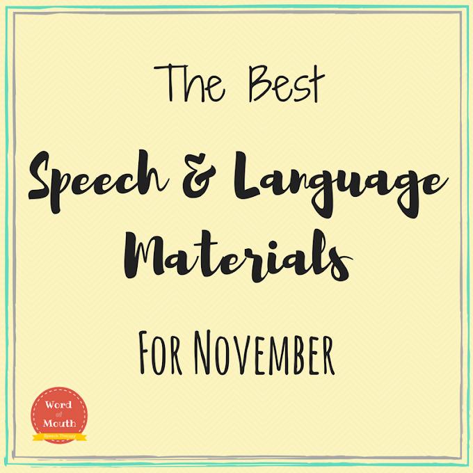 Best Speech Therapy Materials