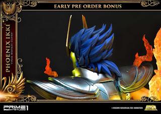 Phoenix Ikki Final Bronze Cloth de Saint Seiya, Prime 1 Studio.