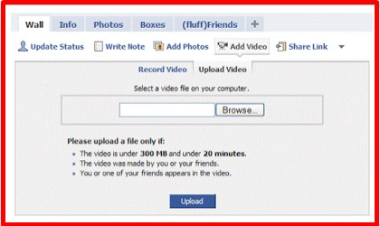 how to upload video on facebook quickly