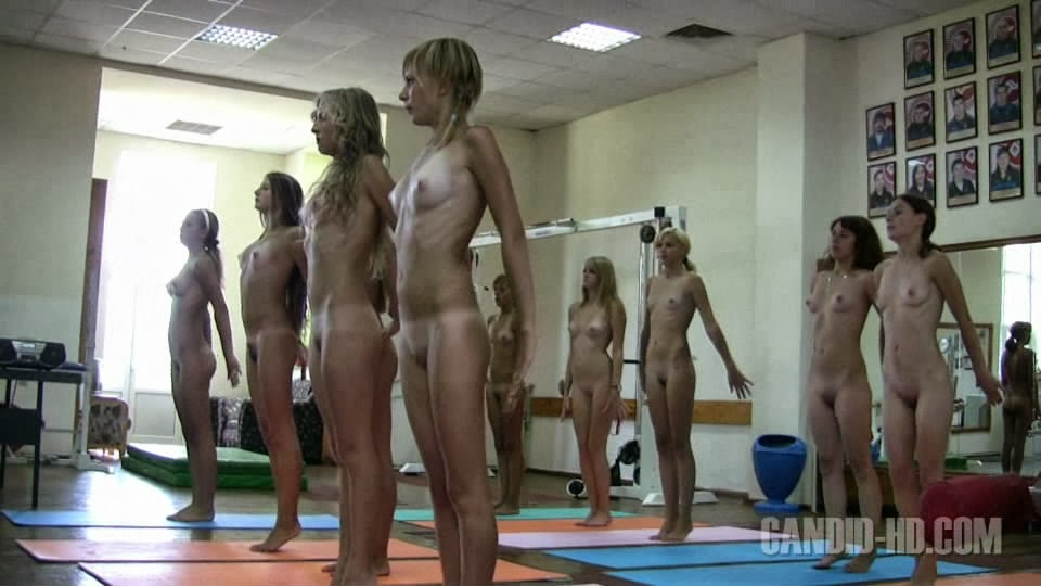 Teen Nude Workout 10