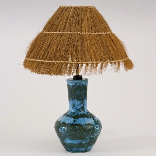 galerie riviera jacques blin pied de lampe en c ramique. Black Bedroom Furniture Sets. Home Design Ideas