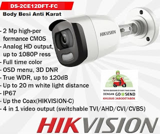 CCTV HIKVISION DS-2CE12DFT-CF    3.6mm