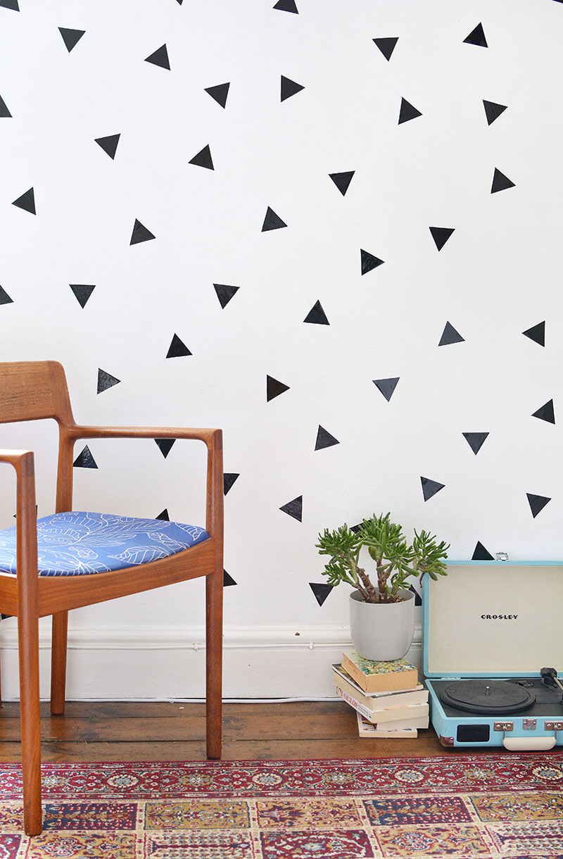 Temporary Wall Decals - easy wall decorating ideas for ...