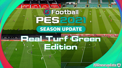 PES 2021 Real Turf Green Version by Endo