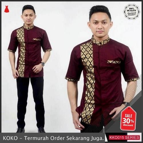 KKO15 SPT358 Koko Batik Merah Prada Emas BMGShop