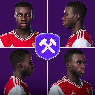 PES 2020 Faces Eddie Nketiah by Volun