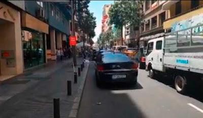 una mujer fallece al car desde un cuarto piso en las palmas, calle león y castillo