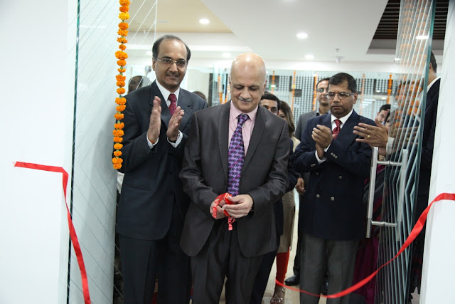 R.Chandrashekar ,President of NAASCOM innaugrated the Tavant Technologies new facility in Noida with Krishnan PP, CDO Tavant