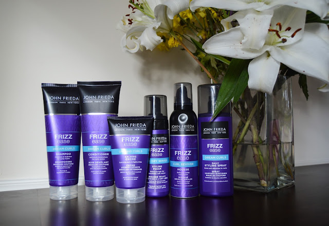 John Frieda Frizz Ease #CurlCollective Review