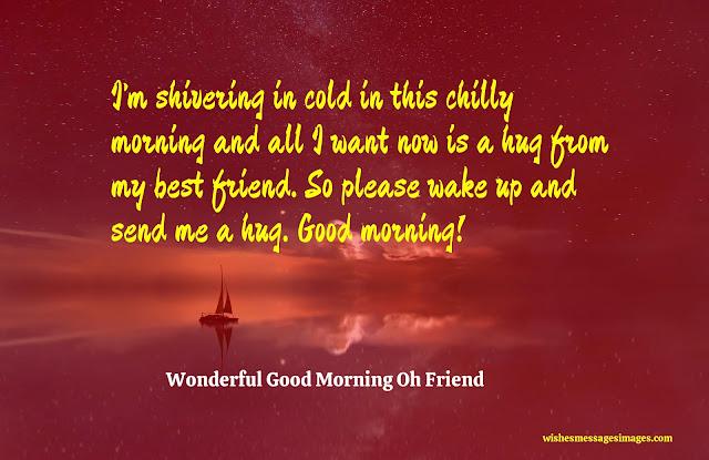 good morning best friend