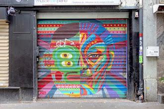 Sunday Street Art : Kashink - rue des Pyrénées - Paris 20