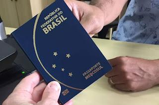 pedido de passaportes