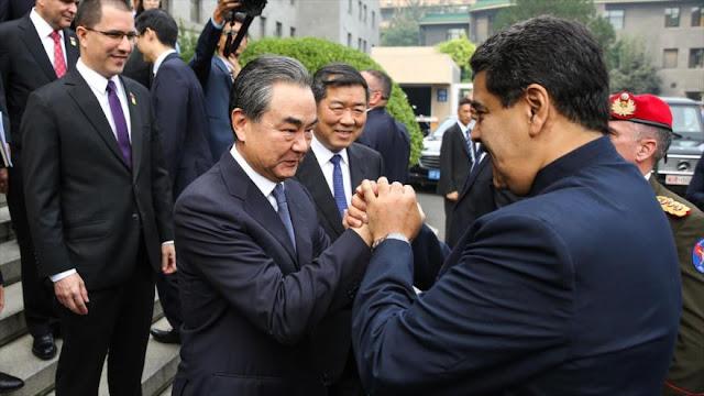 China asegura dar a Venezuela toda la ayuda que pueda aportar