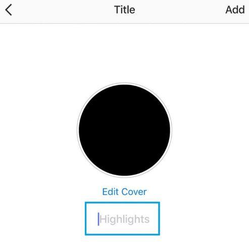 cara membuat cover highlight instagram story