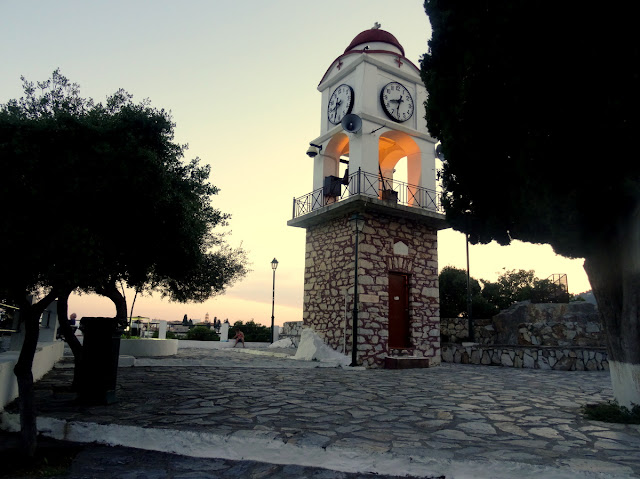 Clock Tower Skiathos Old Town