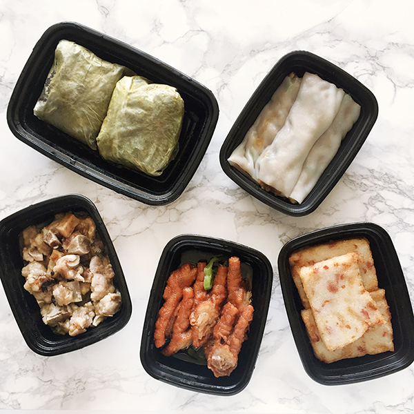 Dim sum delivery, Jing Fong Dim sum