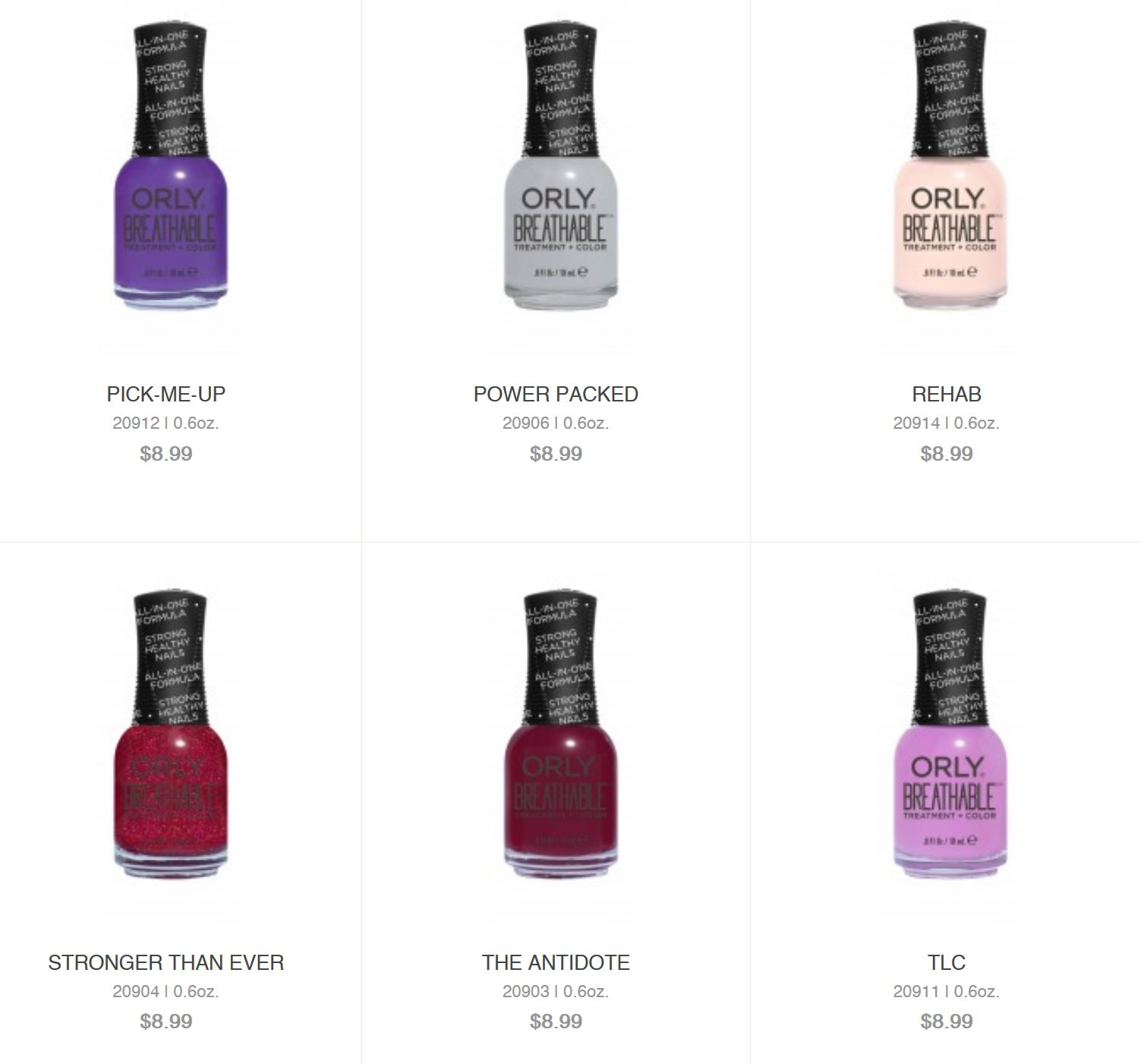 Suroor asia orly introduces breathable nail polish source orly website at the time of writing the most popular colours are pastels other than a deep maroon the antidote deep wine creme a pale orange geenschuldenfo Image collections