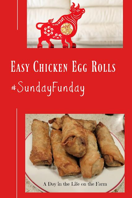 Chicken Egg Rolls pin
