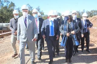 أمزازي يعطي انطلاقة بناء معهد علوم الرياضة