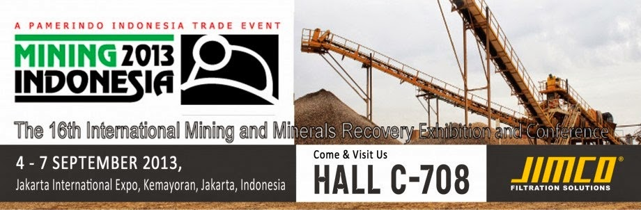 All About Indonesia: JIMCO - Mining Indonesia 4-7 September 2013