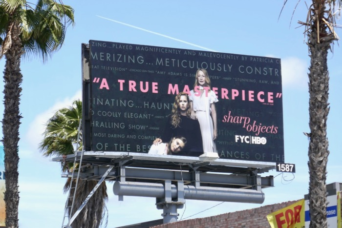 Sharp Objects HBO Emmy FYC billboard