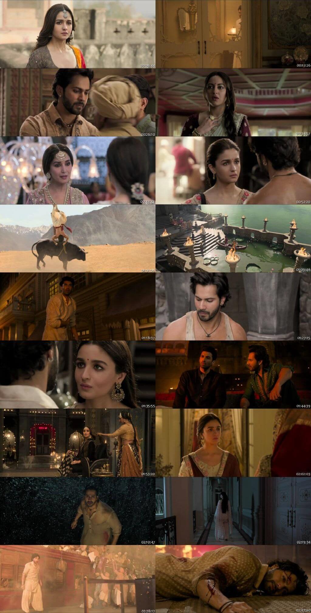 Screen Shot Of Kalank  2019 Full Movie Free Download HD 720P Watch Online