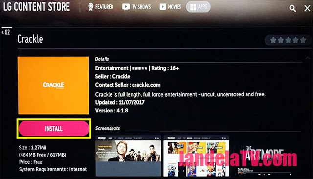 cara install aplikasi di smart tv lg