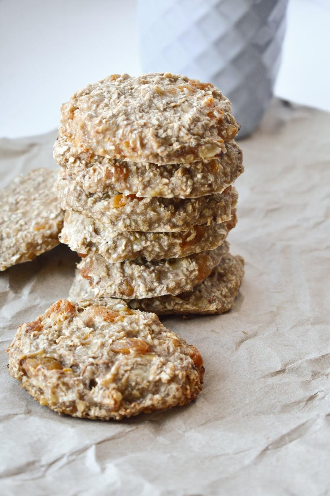 receta galletas de avena