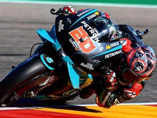 Quartararo Pole Position motoGP Aragon 2020