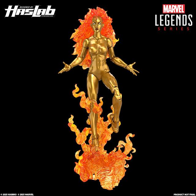 Haslab Marvel Legends Galactus Frankie Raye Nova, Tiers stretch goals