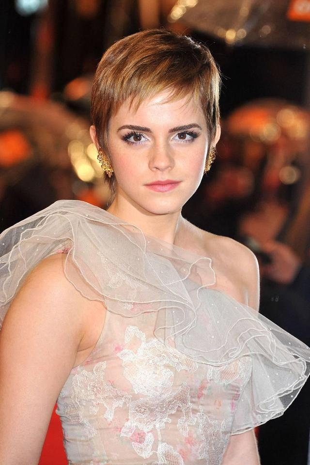 Look at her pixie hair now, it's really cool!