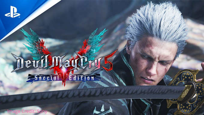 Devil May Cry 5 Special Edition's Ray Tracing Features Available On PS5