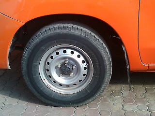 image result of tire blow out.