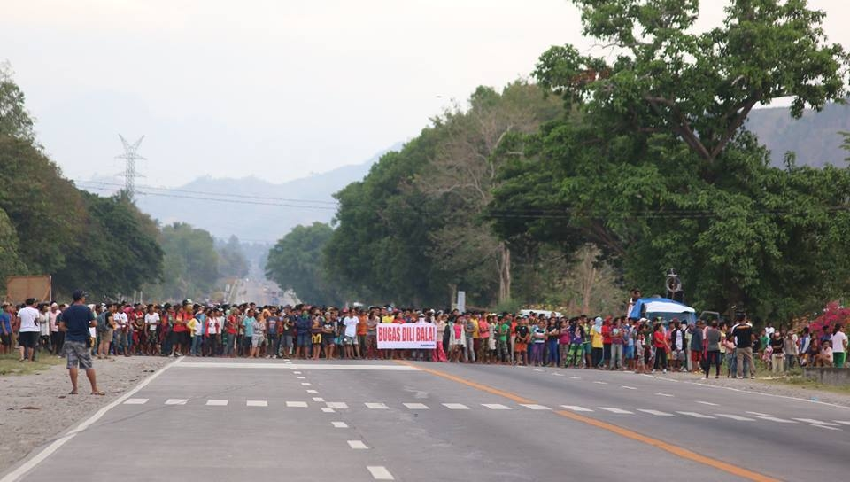 "To rallyists in Koronadal City, locals say ""Go Home"""