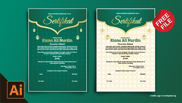 Sertifikat : Download Sertifikat Kegiatan Ramadhan