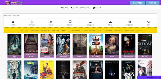 Kumpulan rekomendasi situs tempat download film indonesia terbaru dan terlengkap